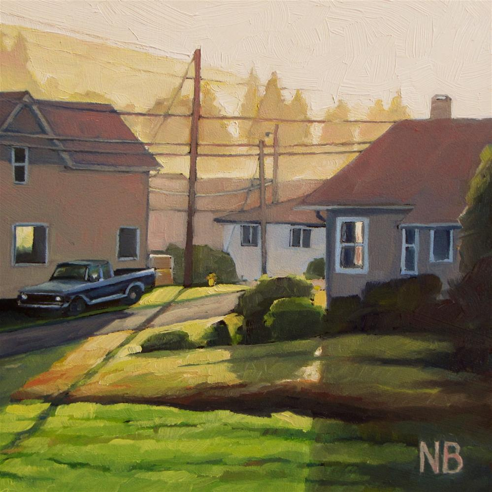 """Oregon Morning"" original fine art by Nora Bergman"