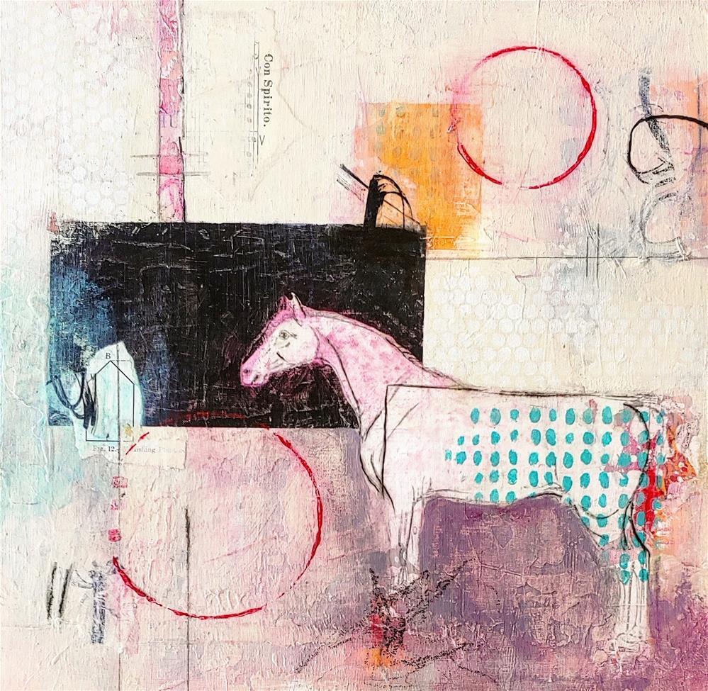 """Con Spirito"" original fine art by Cindy Haase"