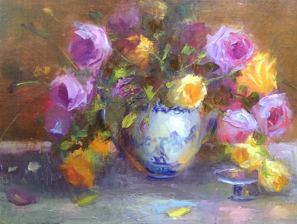 """Family Treasures"" original fine art by Johanna Spinks"