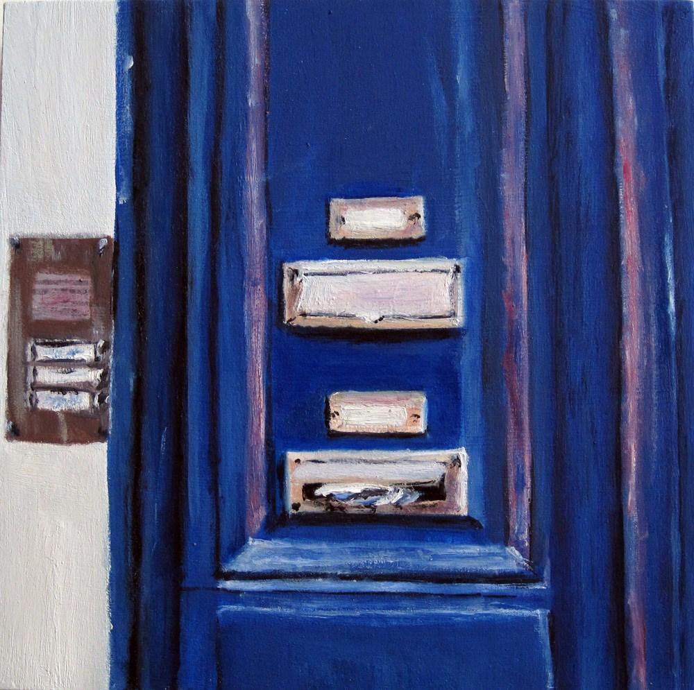 """Mailbox"" original fine art by Ulrike Miesen-Schuermann"