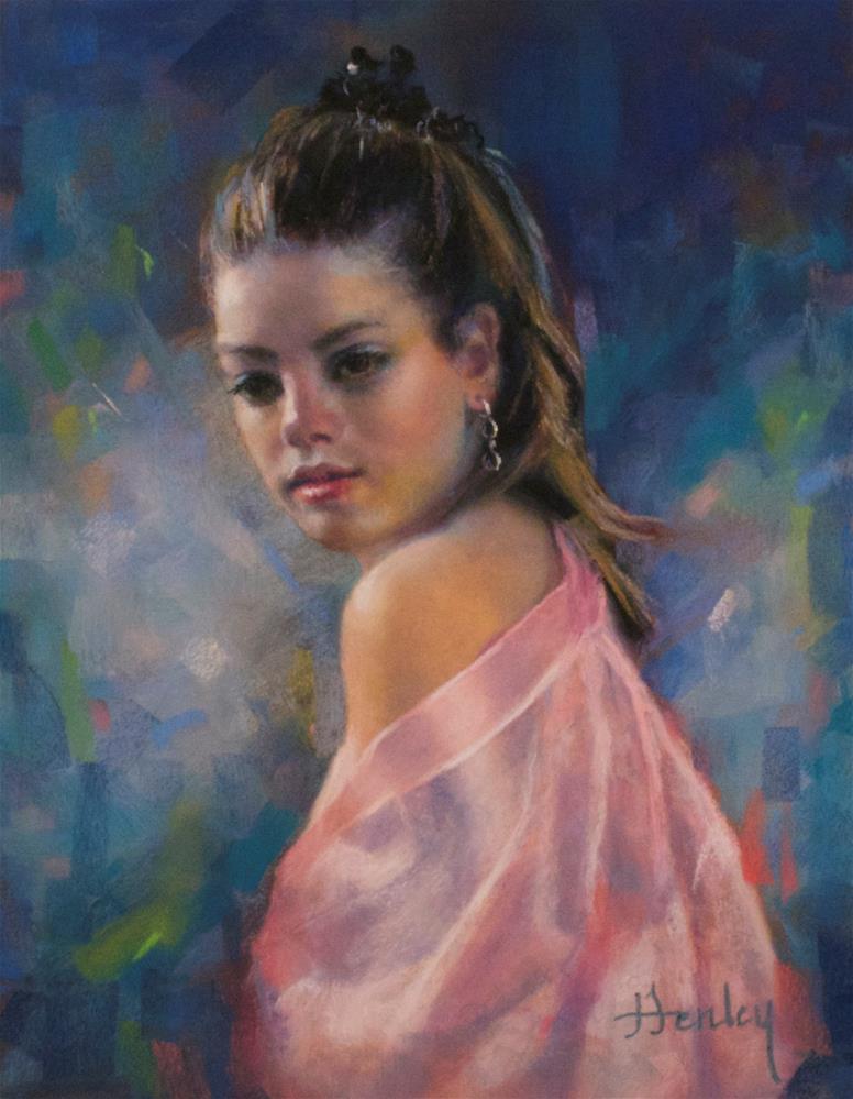 """At A Glance"" original fine art by Denise Henley"