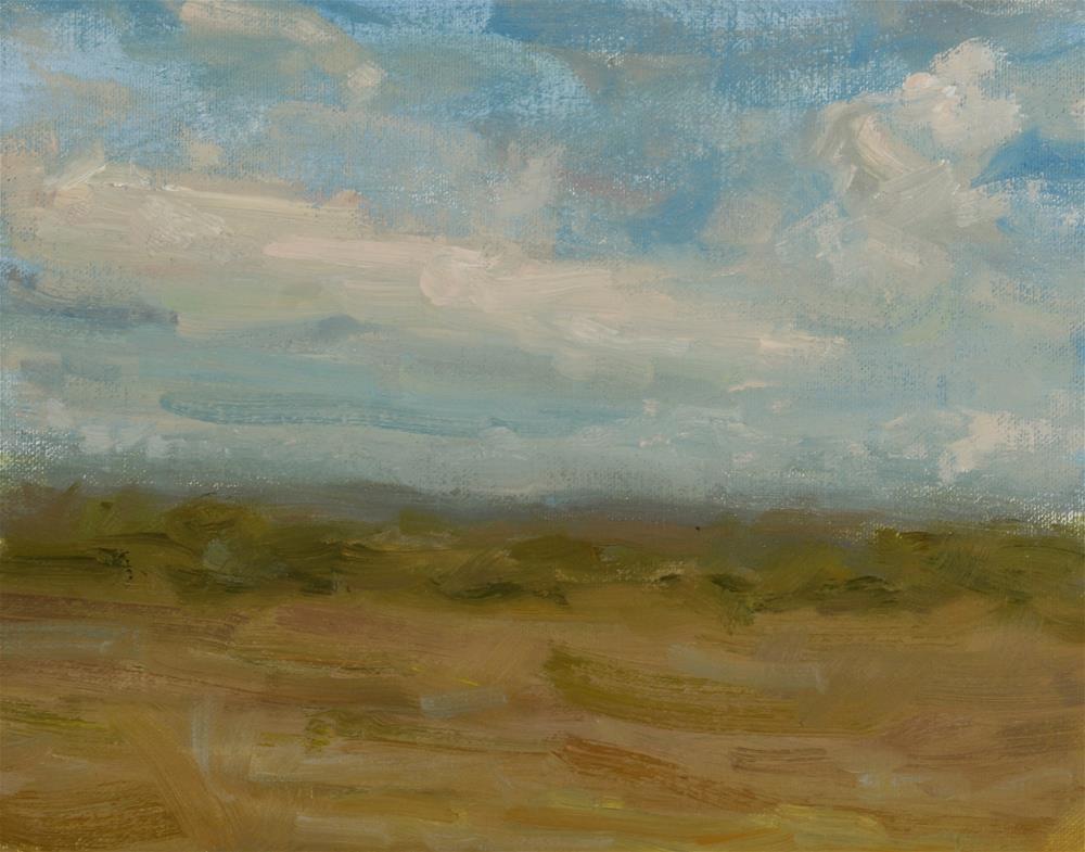 """South Texas Clouds"" original fine art by Scott Serafica"