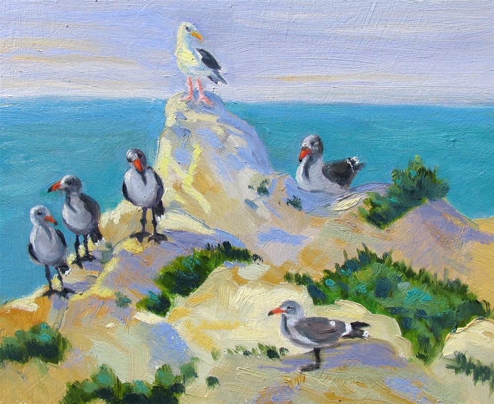 """My Audience"" original fine art by Rhett Regina Owings"