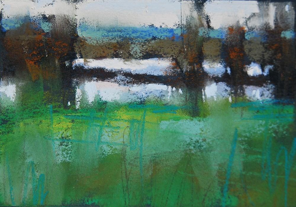 """""""Green with Love"""" original fine art by Marla Baggetta"""