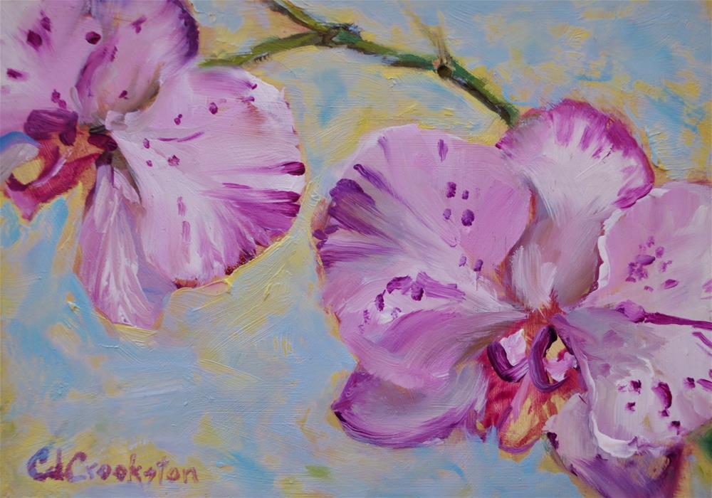 """Favorite Orchid"" original fine art by Catherine Crookston"