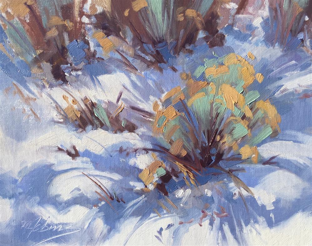 """Sage and Sunshine"" original fine art by Mary Jabens"