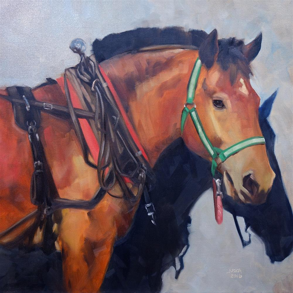 """""""The Respite"""" original fine art by Elaine Juska Joseph"""