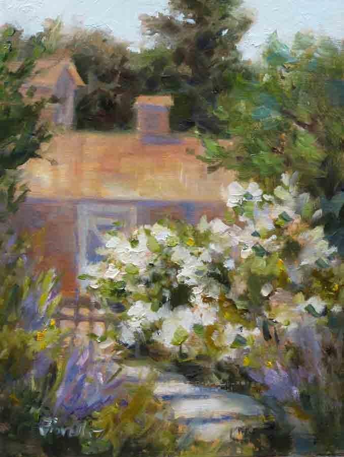 """Santa Ynez Afternoon"" original fine art by Pat Fiorello"
