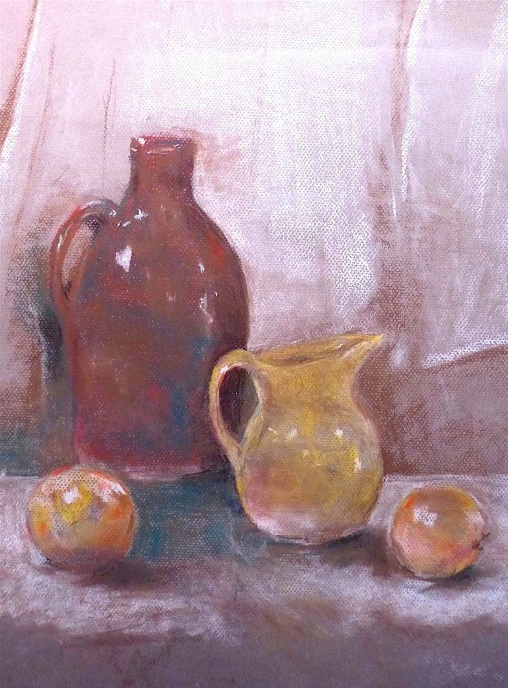 """""""Still Life #5"""" original fine art by Judith Freeman Clark"""