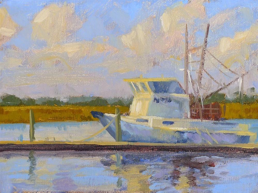 """Morning Catch"" original fine art by Adam Houston"