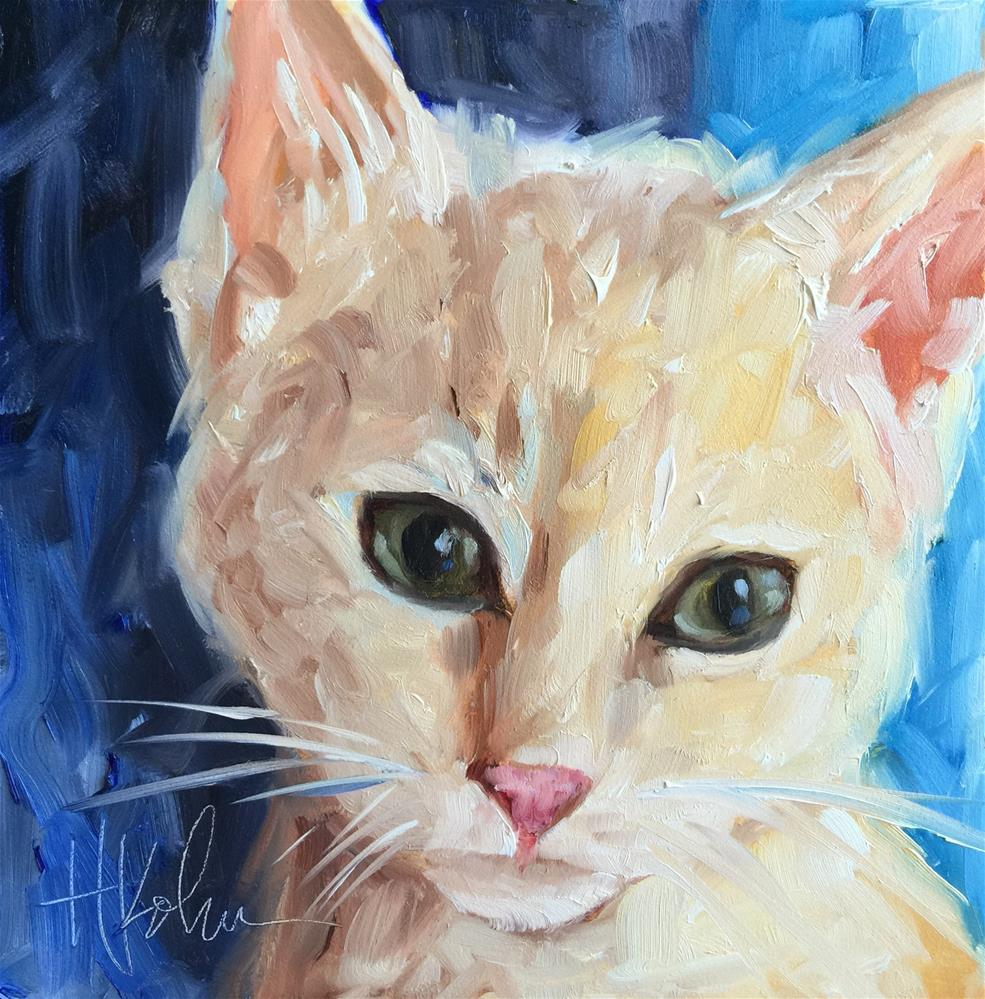 """Nala"" original fine art by Hallie Kohn"