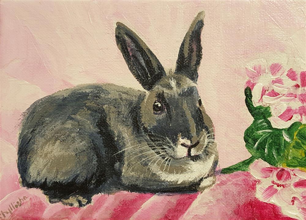 """Alfred"" original fine art by Phyllisha Hamrick"