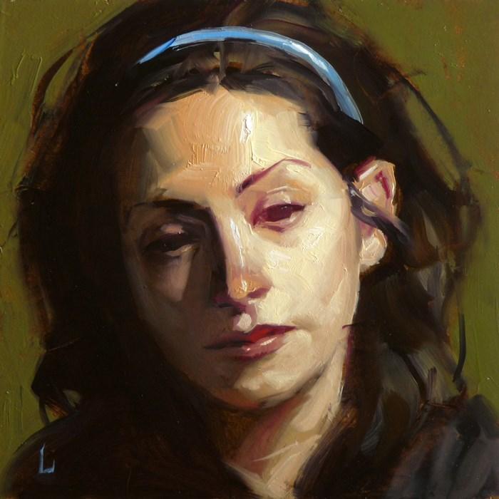 """""""Red Eye"""" original fine art by John Larriva"""