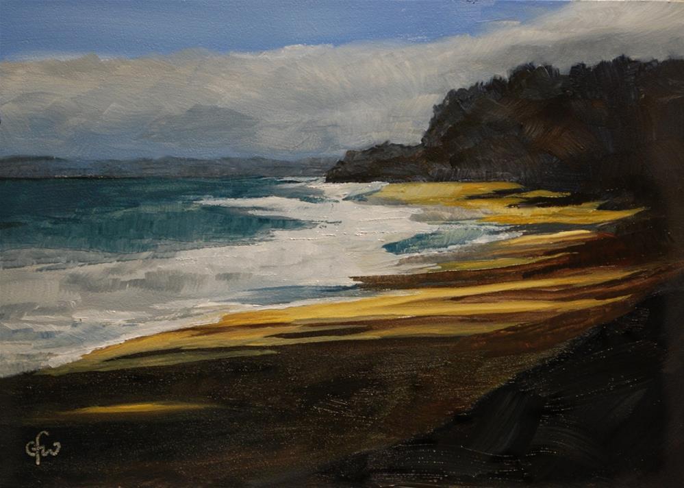 """Hawaian Beach"" original fine art by Gary Westlake"