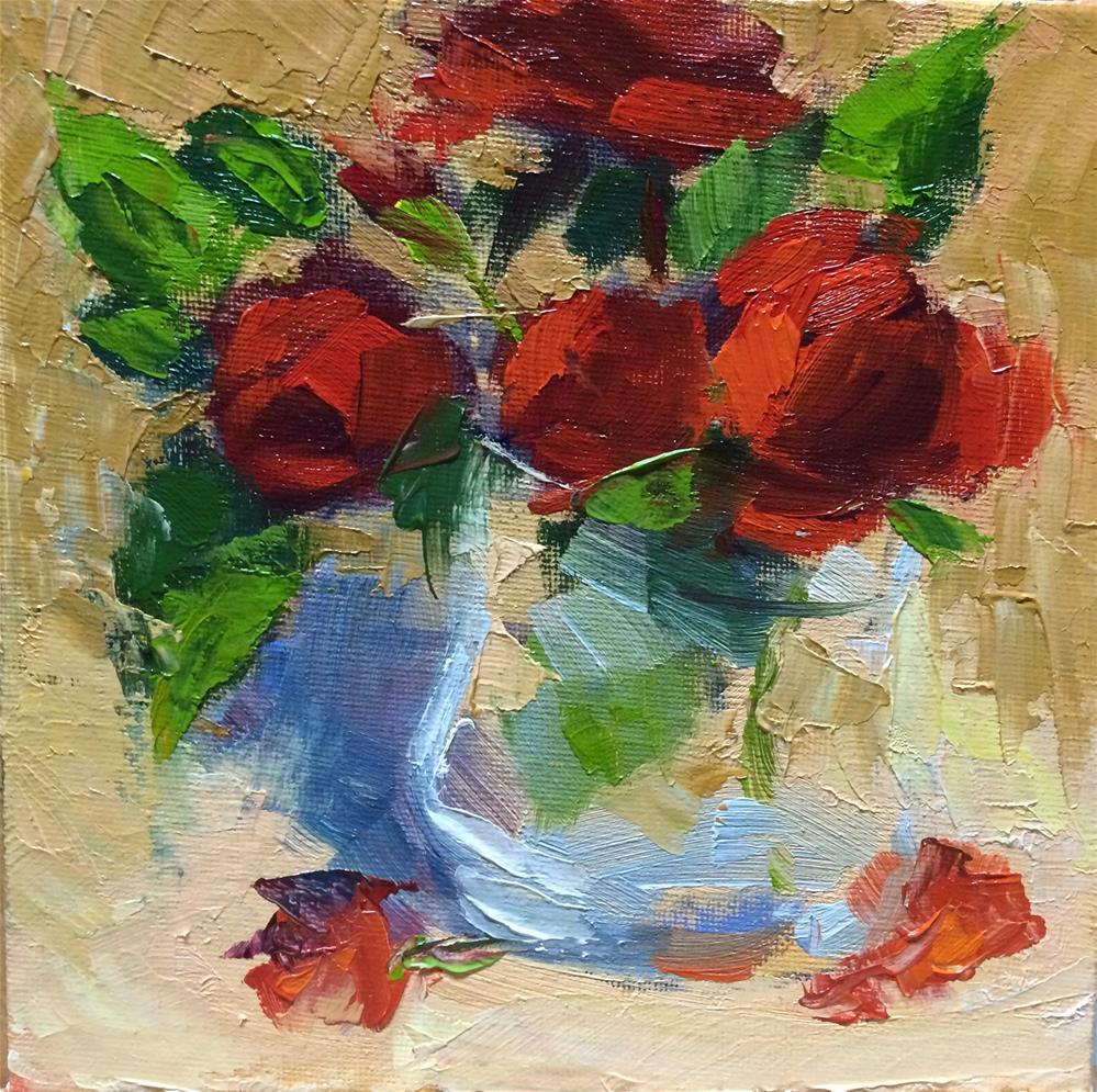 """Mini Roses"" original fine art by Naomi Bautista"