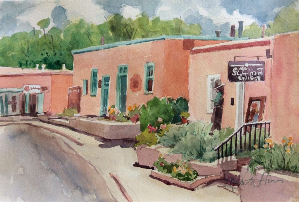 """The Gallery"" original fine art by Marita Hines"