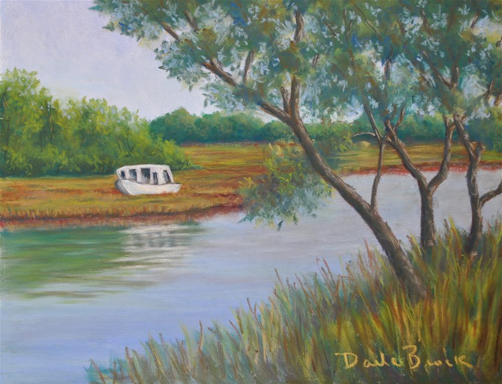 """On the Marsh"" original fine art by Darla Brock"