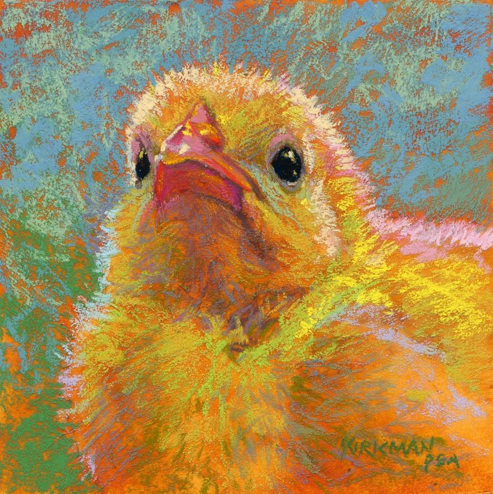 """""""Happy Easter!"""" original fine art by Rita Kirkman"""