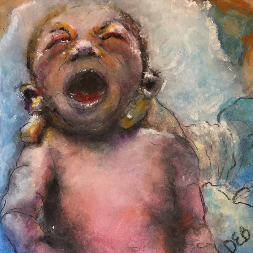 """Day One"" original fine art by Debbie Yacenda"