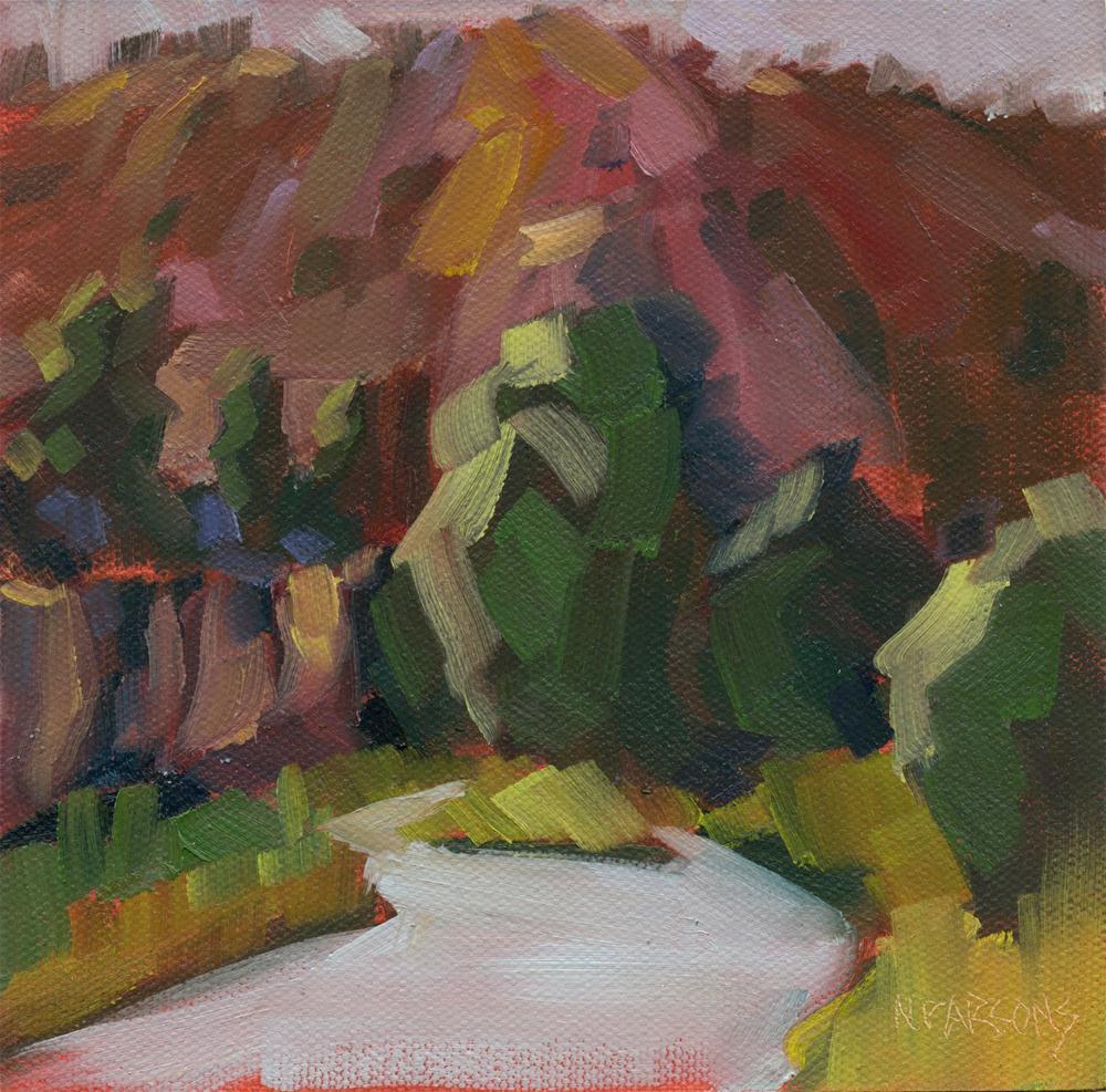 """""""Canyon Colors"""" original fine art by Nancy Parsons"""