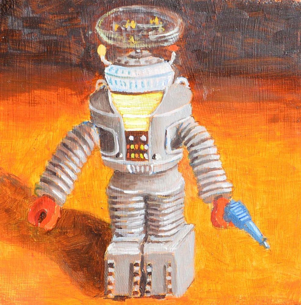 """Danger Will Robinson"" original fine art by Robert Frankis"