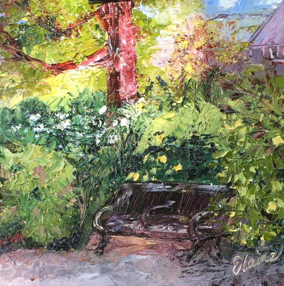 """The Nook"" original fine art by Elaine Ford"