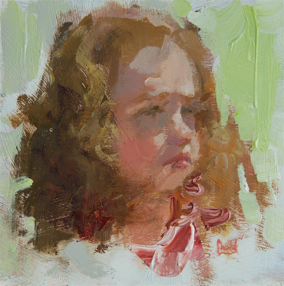 """Strawberry"" original fine art by Chantel Barber"