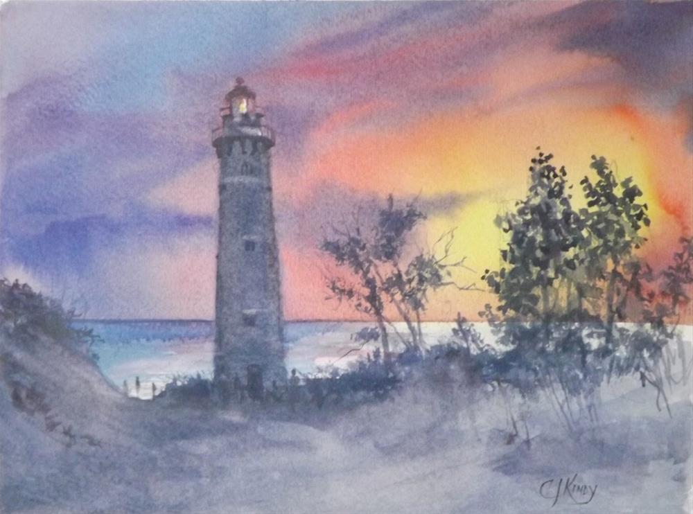 """Little Point Sable"" original fine art by Cedar Kindy"