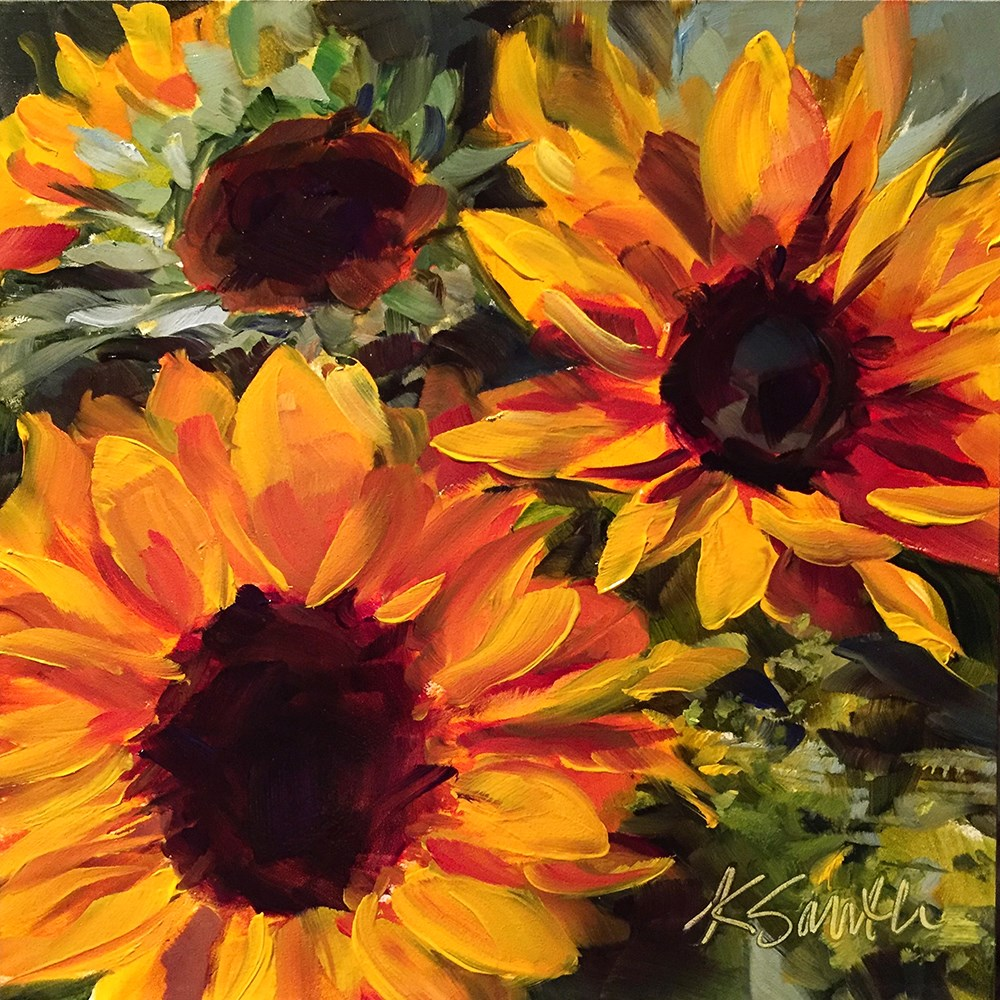 """""""a day filled with sunshine"""" original fine art by Kim Smith"""