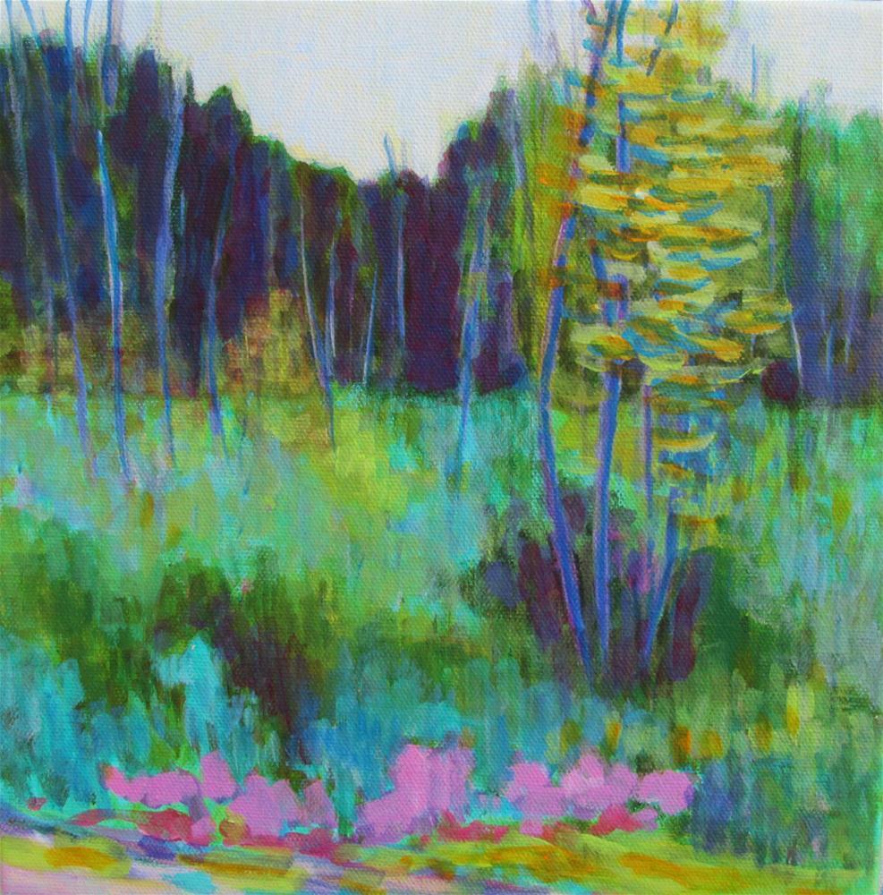 """Green Grow the Rushes"" original fine art by Patricia MacDonald"