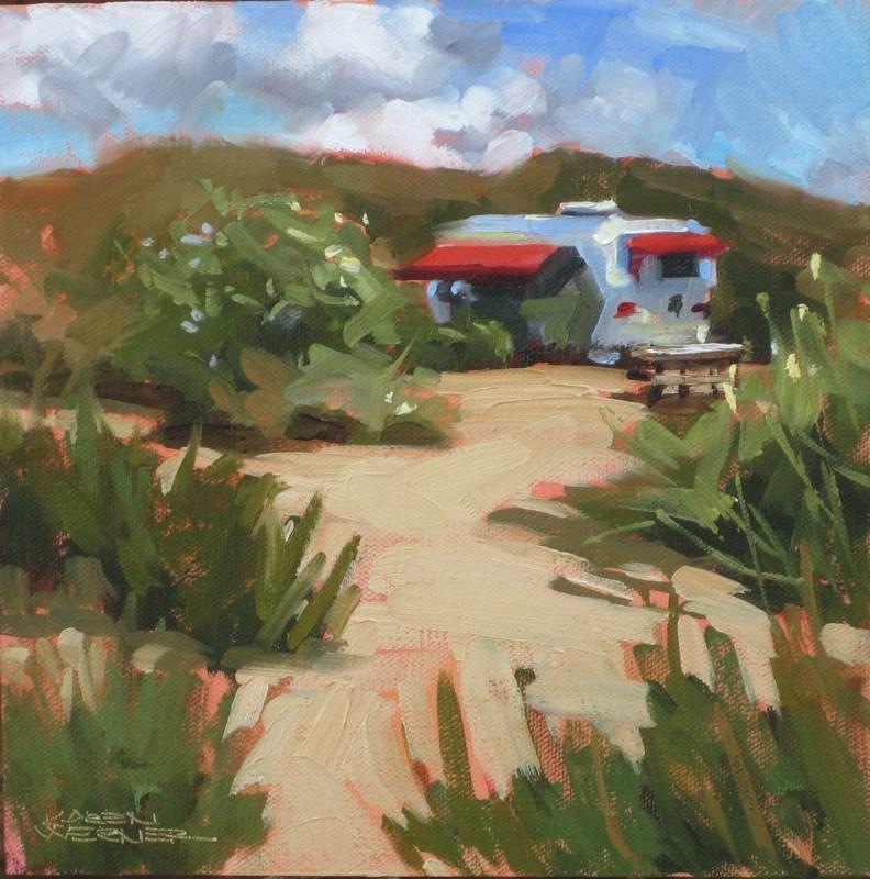 """""""California Streamin'"""" original fine art by Karen Werner"""