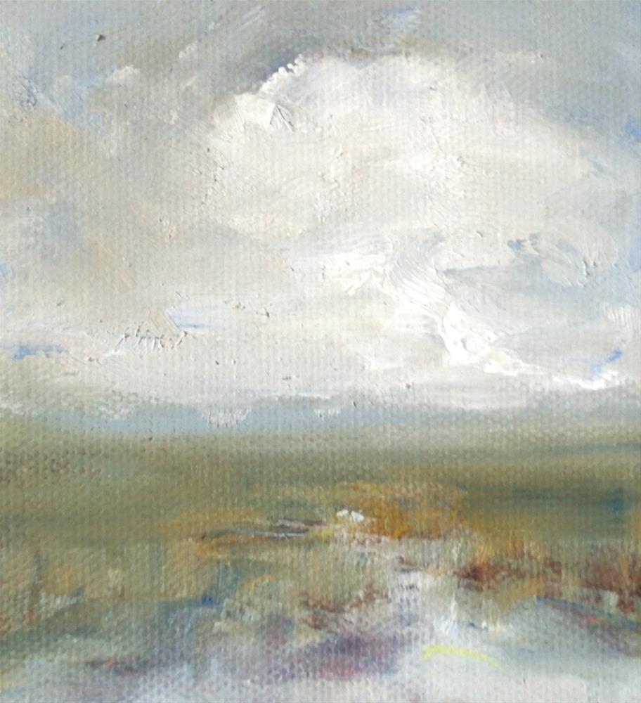 """Sea Island Marsh"" original fine art by Ester Deen"