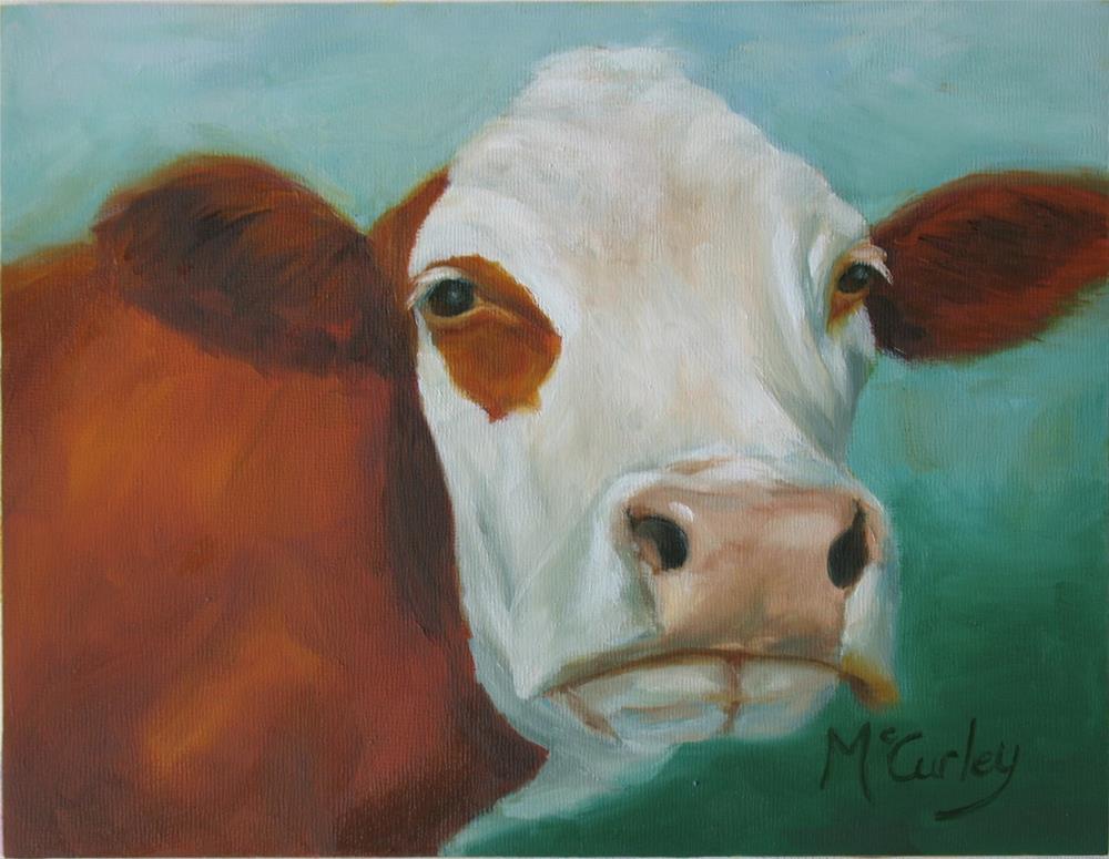 """""""Hay Again?"""" original fine art by Melisa McCurley"""