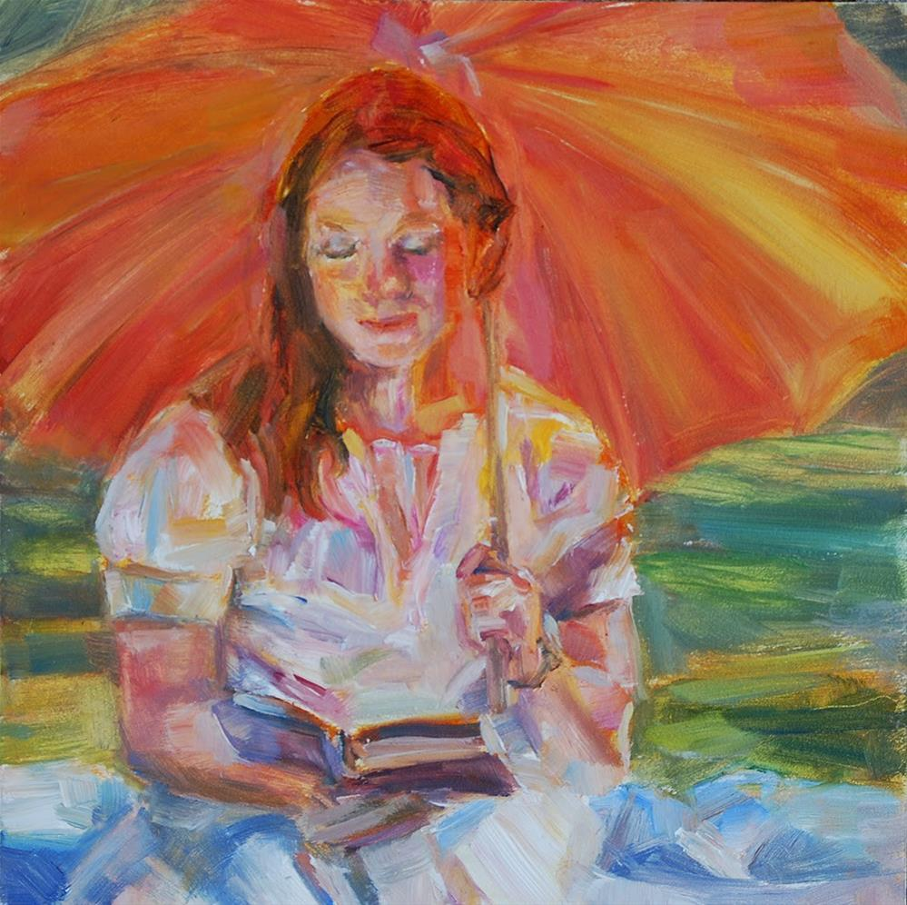 """Glowing"" original fine art by Carol DeMumbrum"