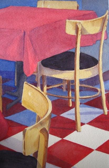 """Closing Time"" original fine art by Judith Freeman Clark"