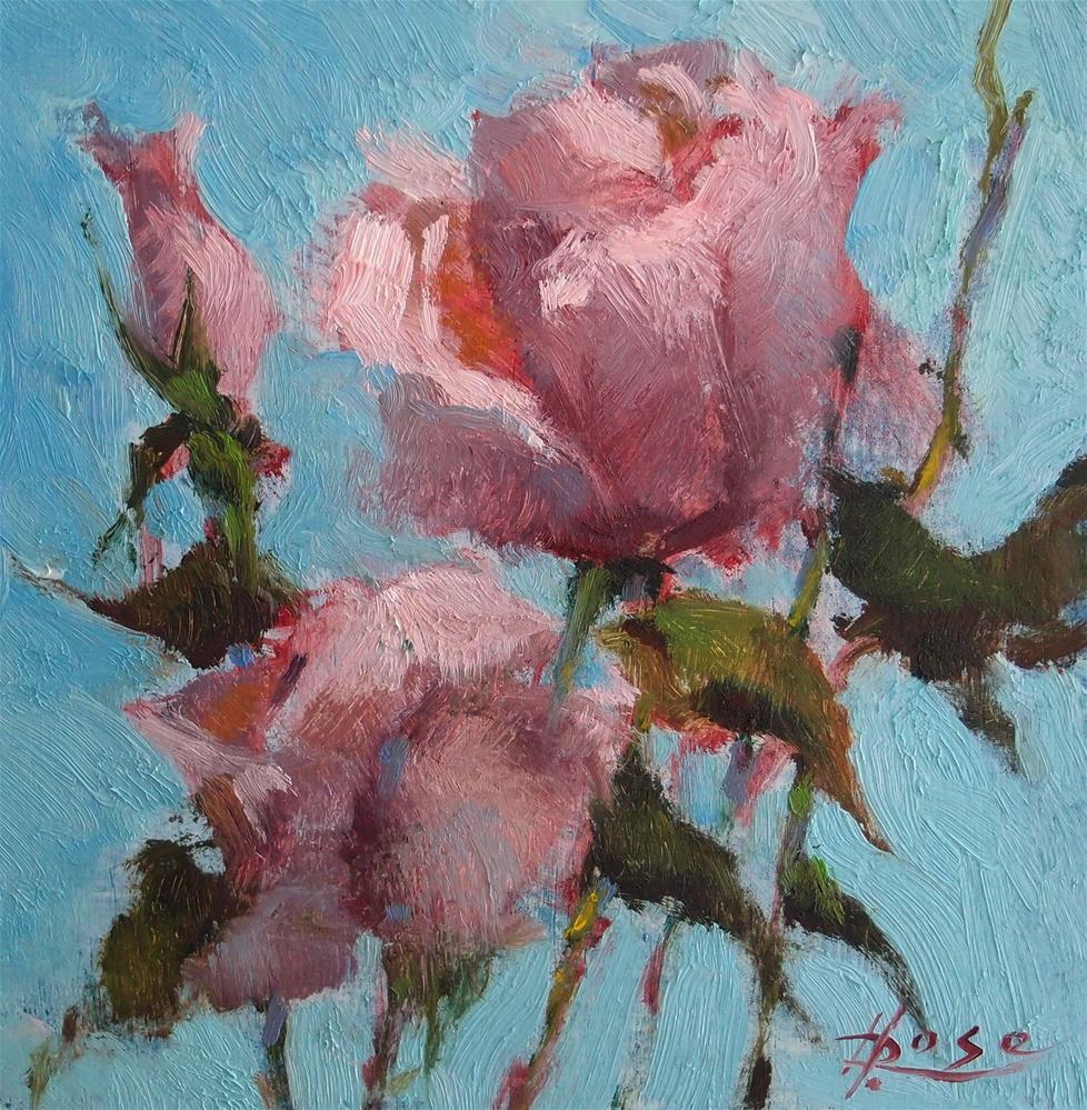 """Rose Demo"" original fine art by Howard Rose"