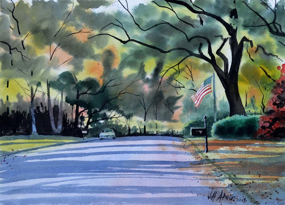 """Riverwood View"" original fine art by Jeff Atnip"
