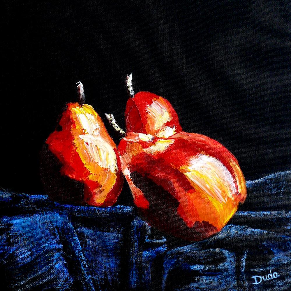 """Fall on Me"" original fine art by Susan Duda"