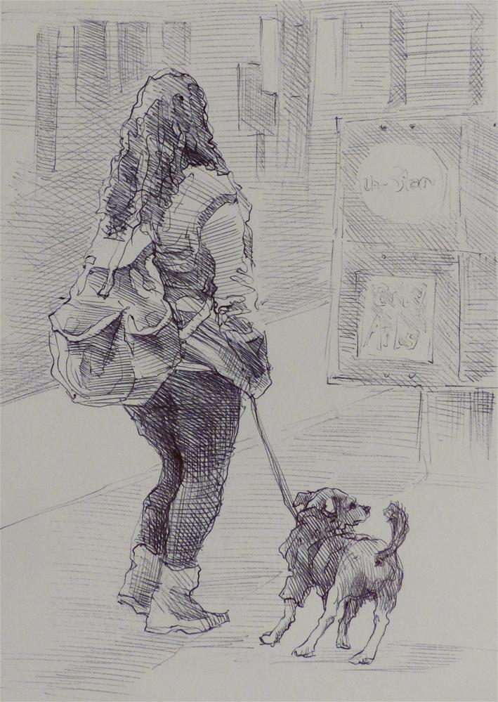 """500Faces-83"" original fine art by Katya Minkina"