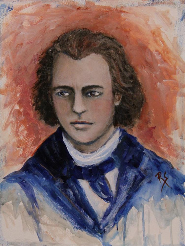 """The Composer"" original fine art by Roberta Schmidt ArtcyLucy"