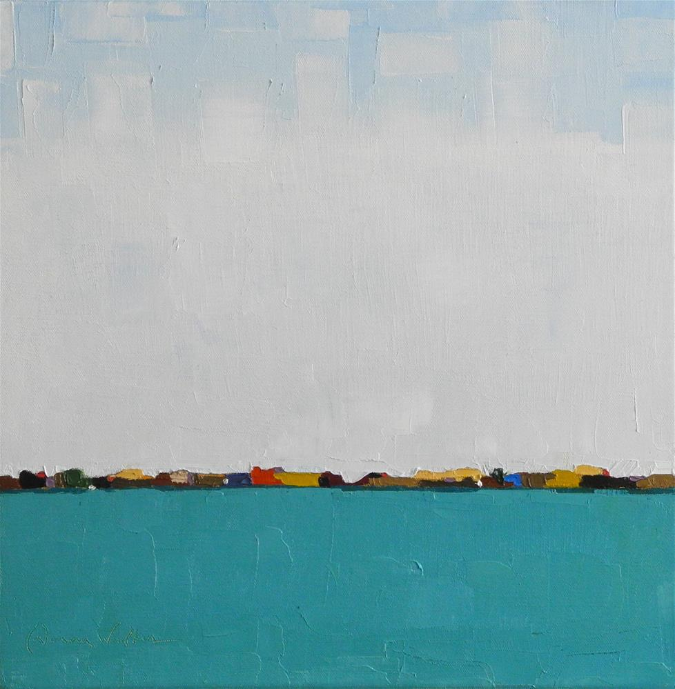 """Harbor II"" original fine art by Donna Walker"