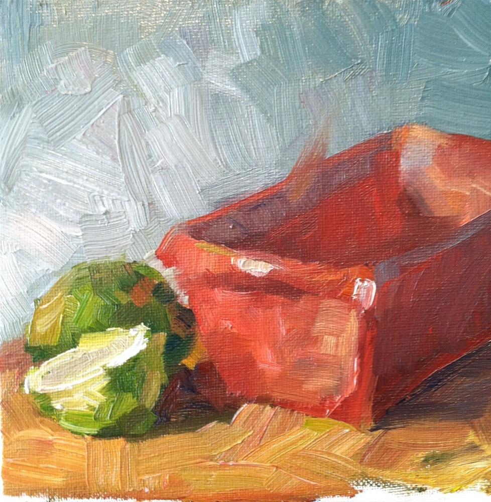 """Waiting"" original fine art by Michael Williamson"