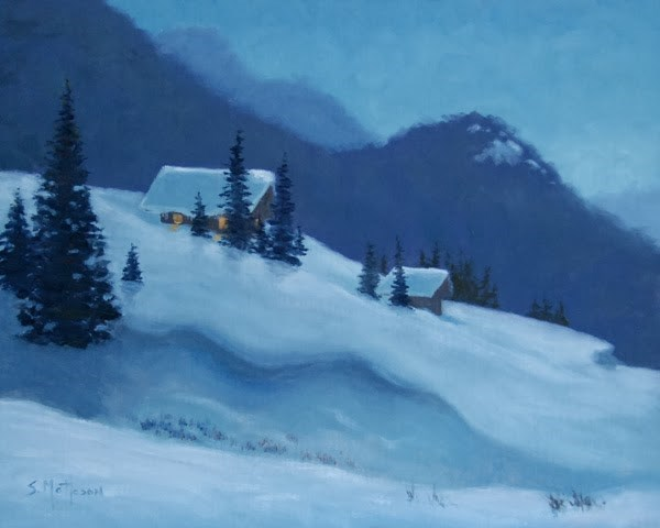 """""""Early Risers (large version)"""" original fine art by Susan Matteson"""