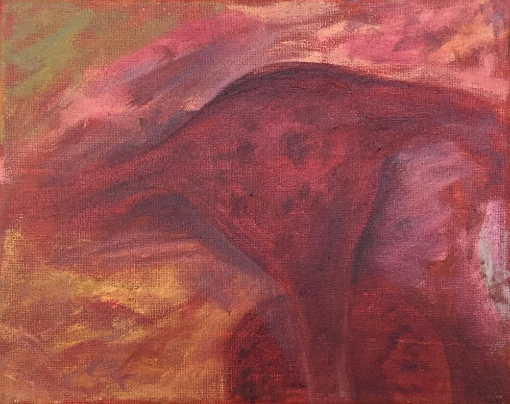 """""""The Fuzzy Edges"""" original fine art by Madeleine Hoffmeister"""
