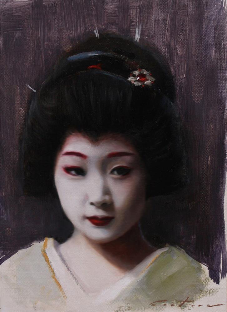"""Katsuru"" original fine art by Phil Couture"