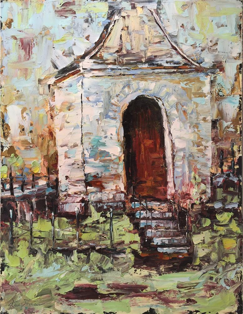 """Vecchia Chiesa (Old Curch)"" original fine art by Ken Fraser"