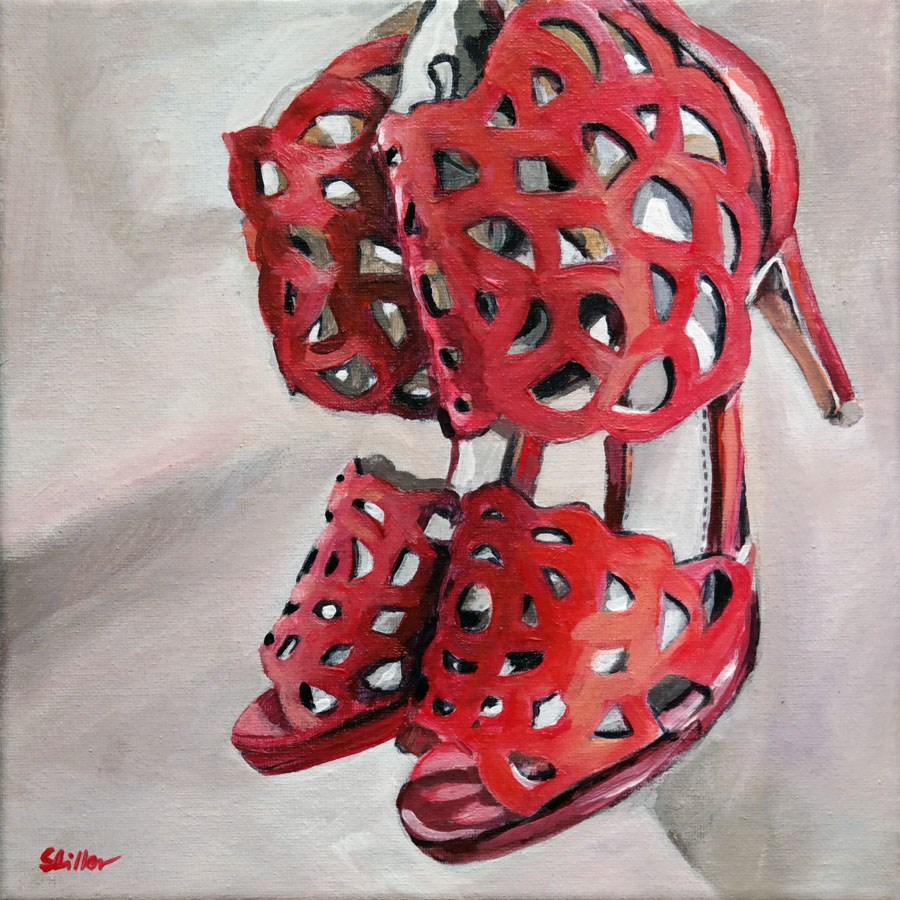 """1577 Frauenschuh"" original fine art by Dietmar Stiller"