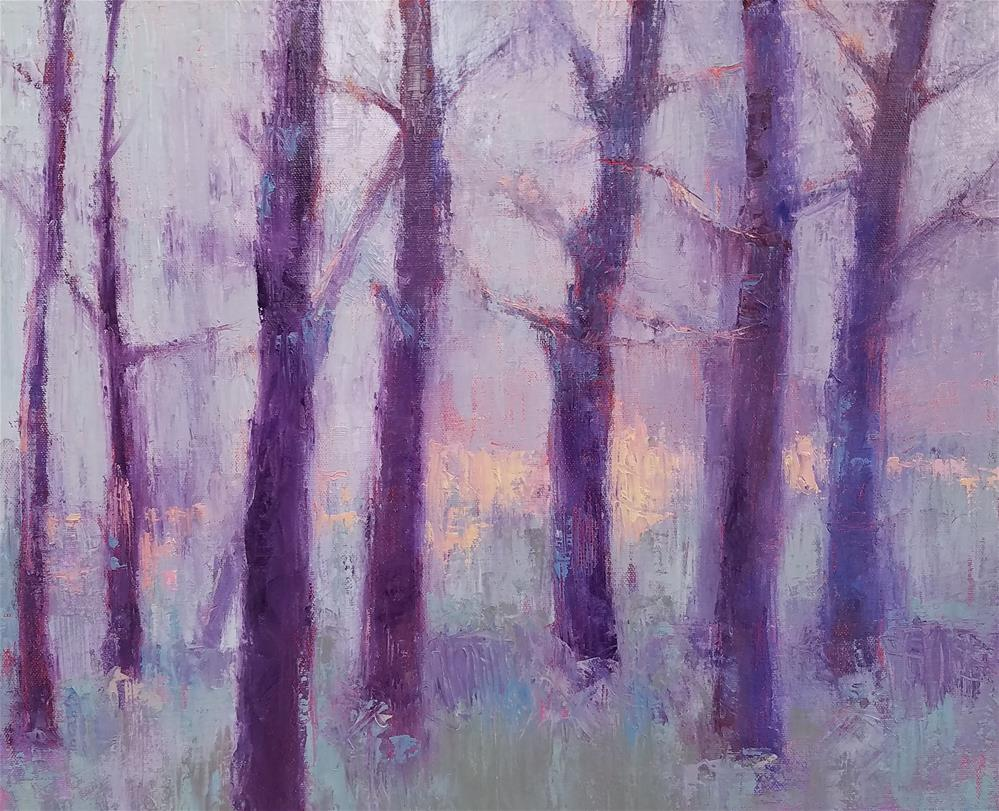 """""""Gloaming"""" original fine art by Cindy Haase"""