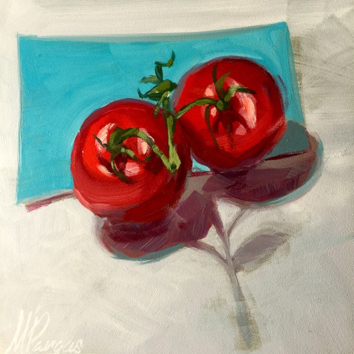 """Tomato Tomahto"" original fine art by Mary Pargas"