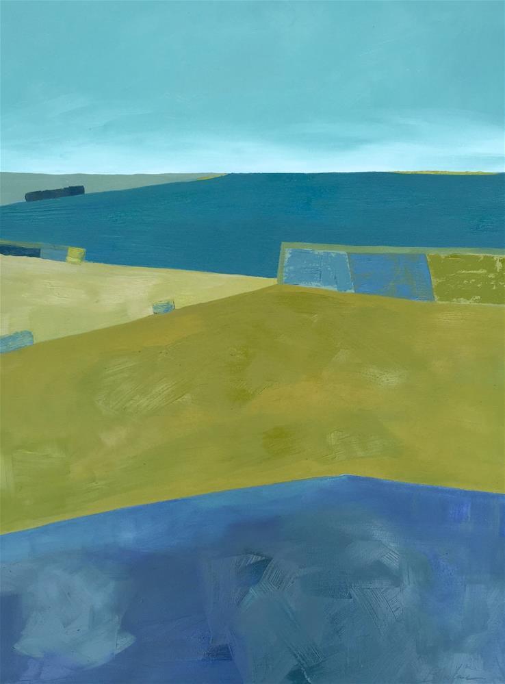 """Central Valley Farmlands"" original fine art by Janet Bludau"